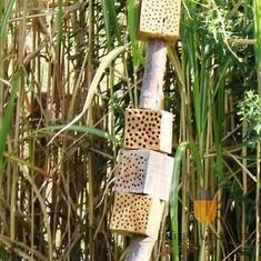 Les totems - Hôtel à insectes